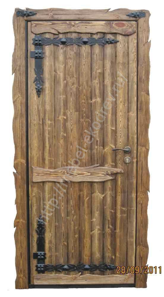 Дверь из массива своими руками фото
